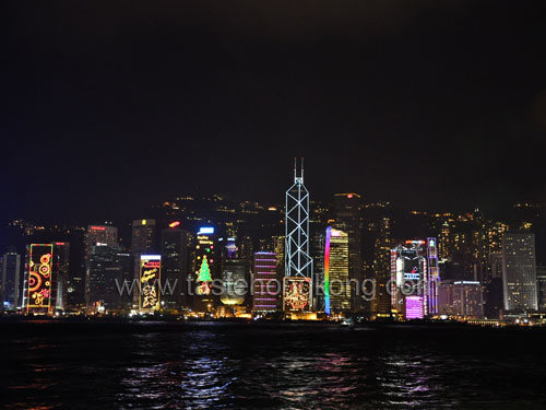 Victoria Harbor seeing from the Kowloon side