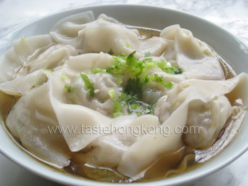 Wontons in Soup