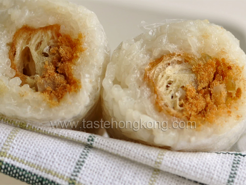 Sticky Rice Rolls