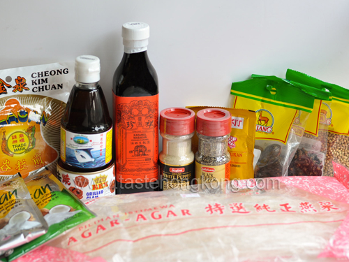 What ingredients to buy from Malaysia, 2010?