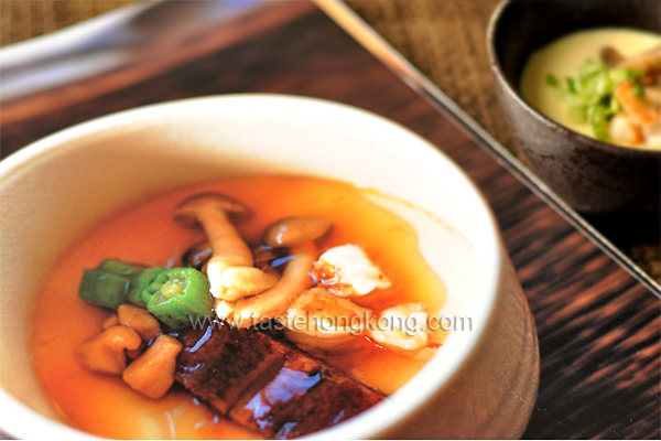 Chawan-mushi aka Thick Egg Soup
