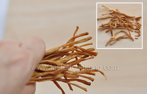 Golden Needle Vegetables