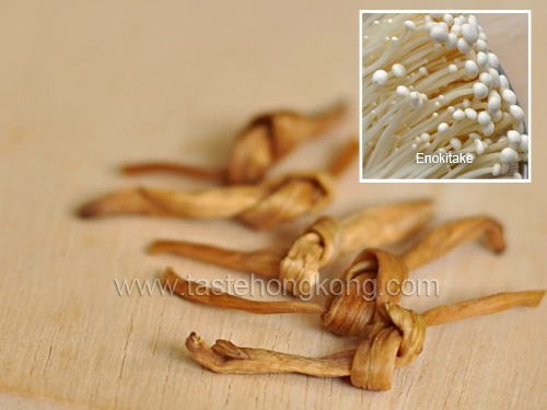 Golden Needle Vegetables and Mushroom (Enokitake)