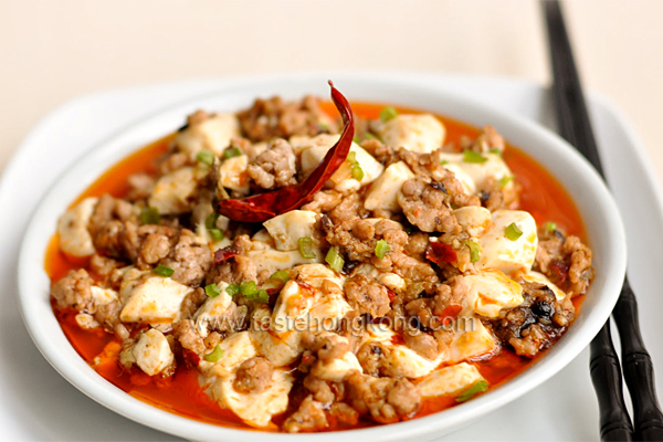 Mapo tofu hong kong food blog with recipes cooking tips mostly chinese sichuan mapo tofu forumfinder Images