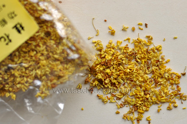 Dried Osmanthus in Bag