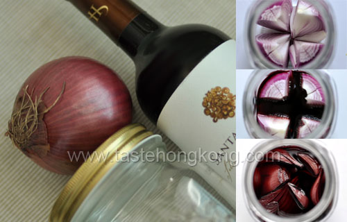 Red Wine with Purple Onion