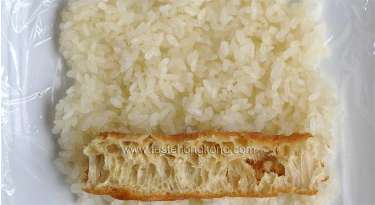 Cruller on Sticky Rice