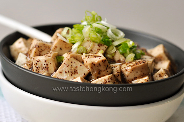 Tofu with Dried Shrimp Roes
