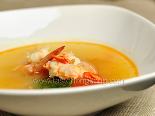 Shrimps in Tomato Soup - Thai's Tom Yum Style