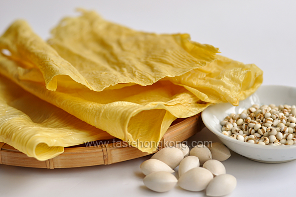 Dried Beancurd Skin or Yuba