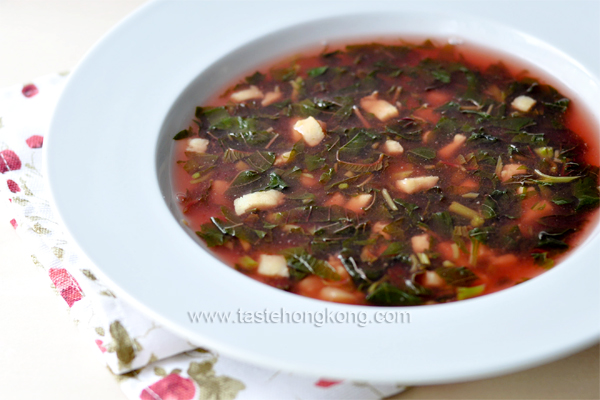 Amaranth Fish Potage