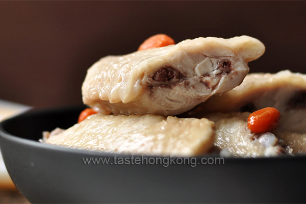 Drunken Chicken in Chinese Shaoxing Wine