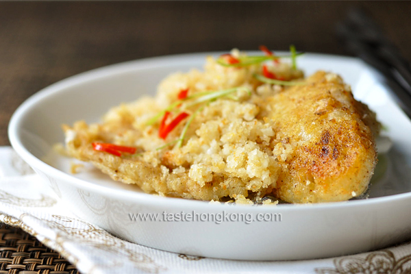 Fish Fillet with Soybean Crumbs