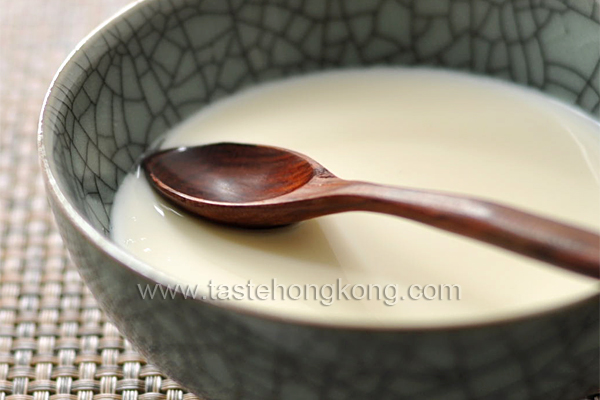 Ginger Milk Custard