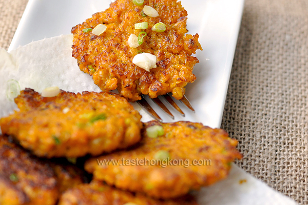 Pumpkin Sardine Patties