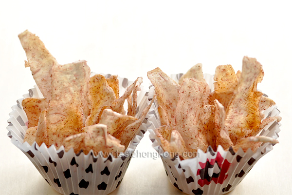 Roasted Taro Chips with Five-Spice Powder
