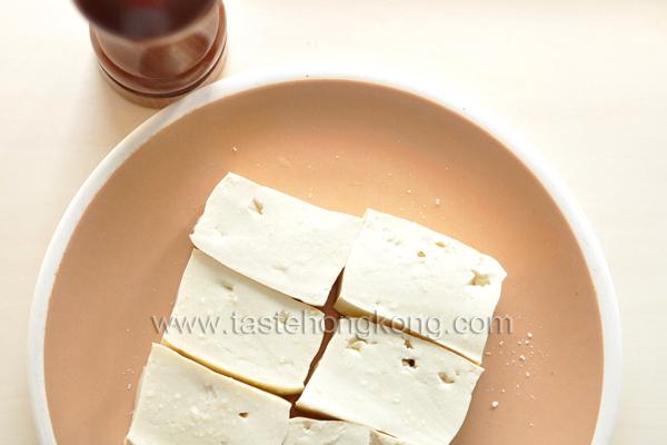 Salting Tofu