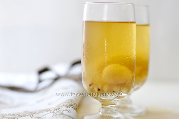 Winter Melon Drink with Dried Longan