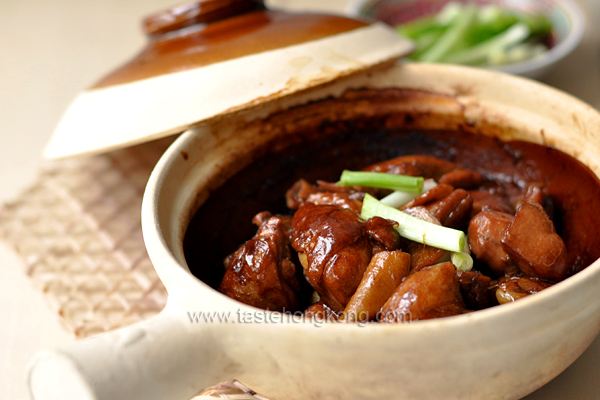Chinese three cup chicken hong kong food blog with recipes chinese three cup chicken forumfinder Images