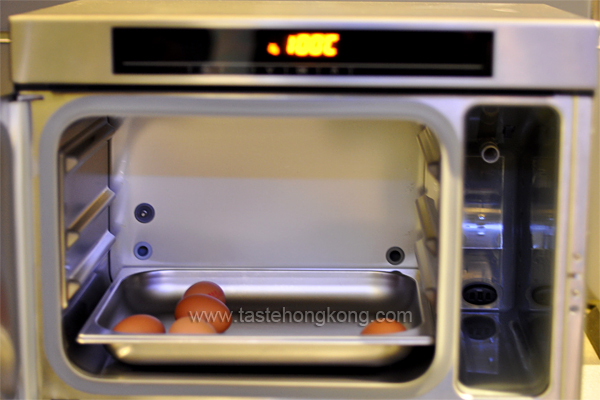 Cooking Hot Spring Egg with Miele Steam Oven