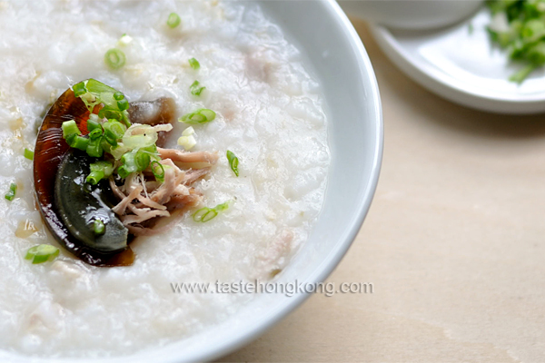 Cook Congee with Salted Pork & Century Egg, a Classic Hong Kong Rice ...