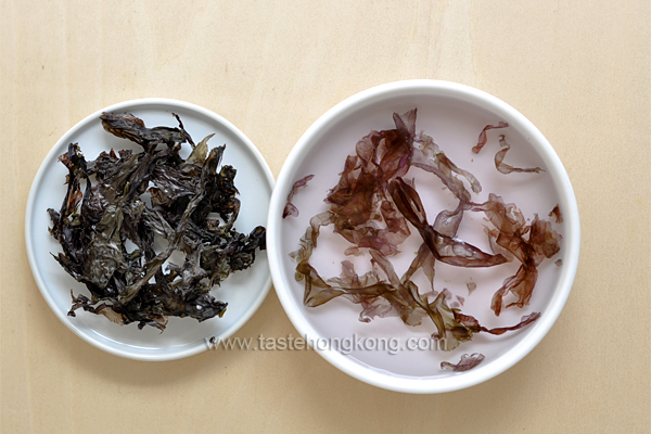Dried Laver or Seaweed