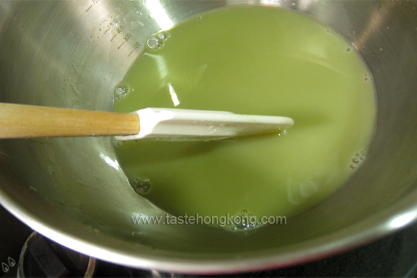 How to Make Green Tea (Matcha) Pudding