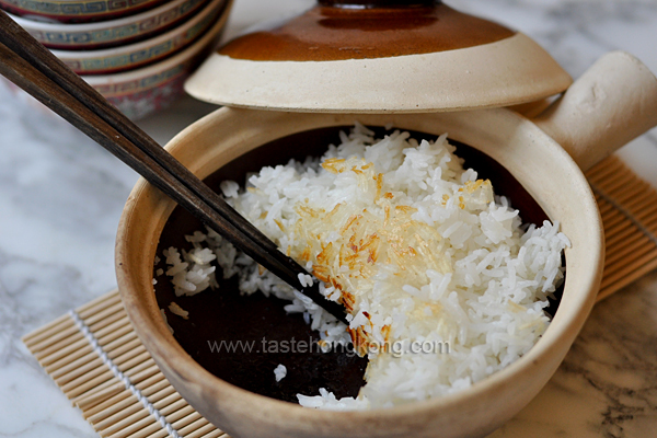 How to Cook Rice with a Crust