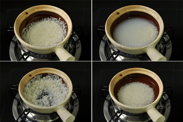 How to Rinsing Rice Step by Step