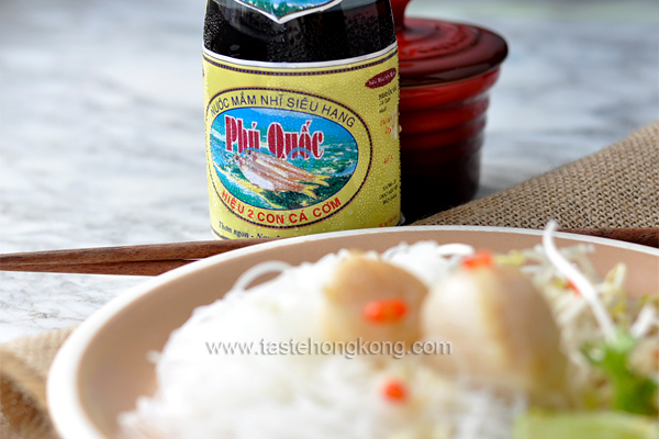 Fish Sauce for Thai Style Rice Noodles