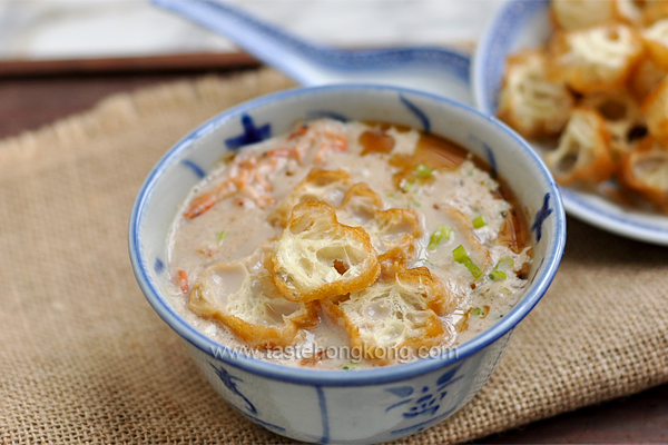 Savory Black Soy Bean Milk Soup