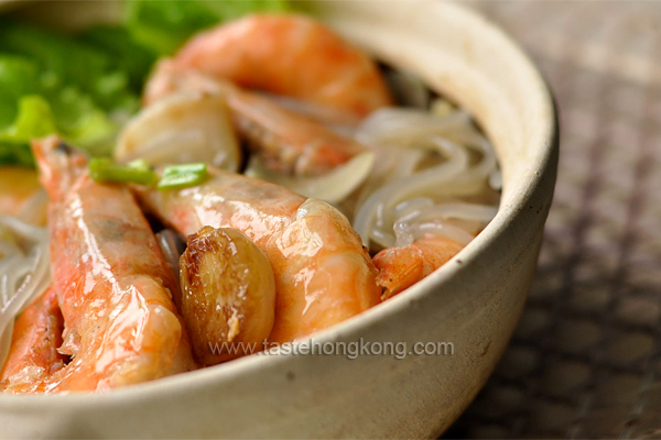 Shrimp Casserole with Korean Sweet Potato Noodles