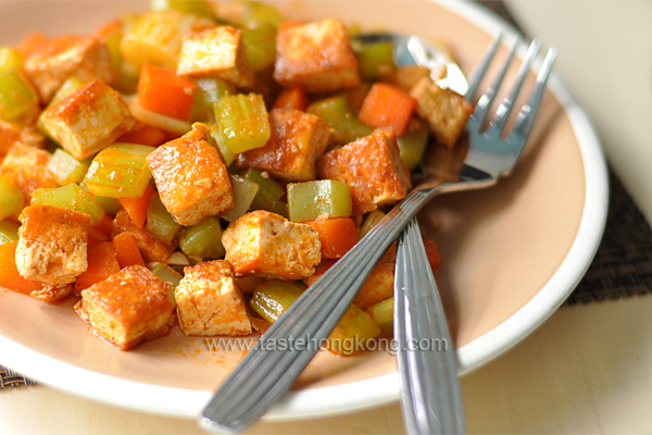 Five-Spice Tofu Stir-Fry With Carrots And Celery Recipes — Dishmaps