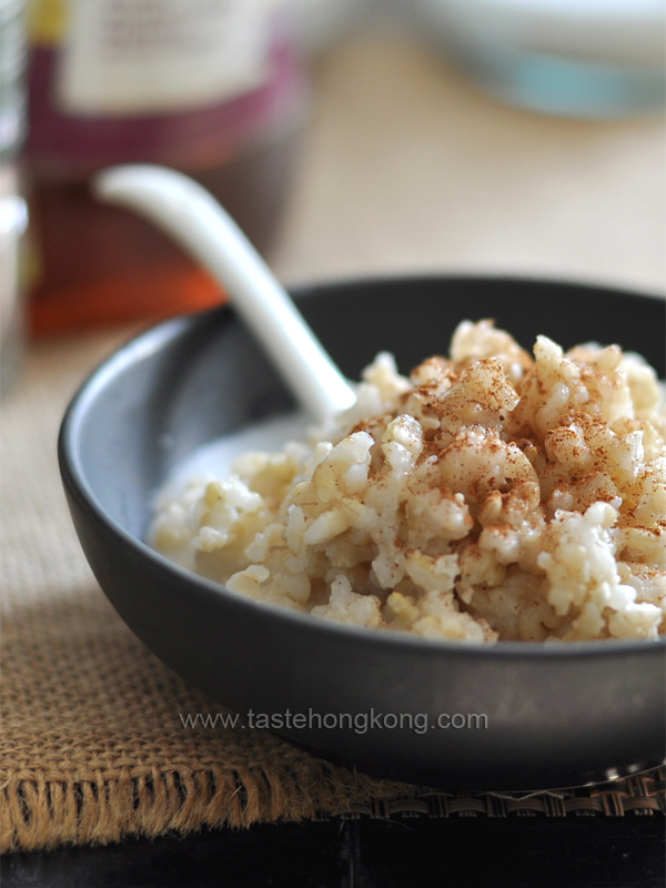 Ingredients 2/3C brown rice 1 2/3C almond milk (milk:rice = 2.5:1 ...
