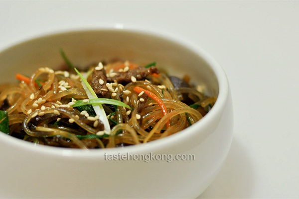 Korean Stir-Fried Vermicelli, Japchae (a CEO's Recipe)