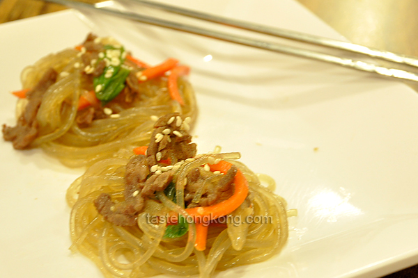 Korean Stir-Fried Vermicelli, Japchae