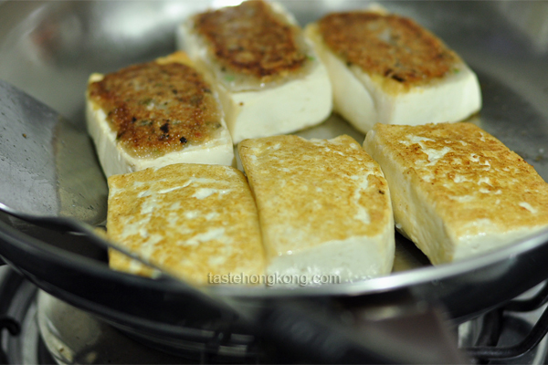 How to Pan Fry Stuffed Tofu