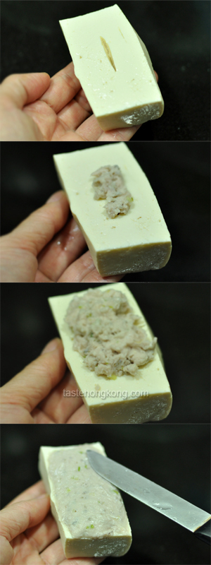 How to Stuff Tofu with Fish Paste: Step-by-Step