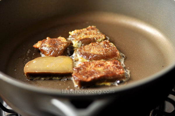 Pan-Fried Sticky Rice Cake