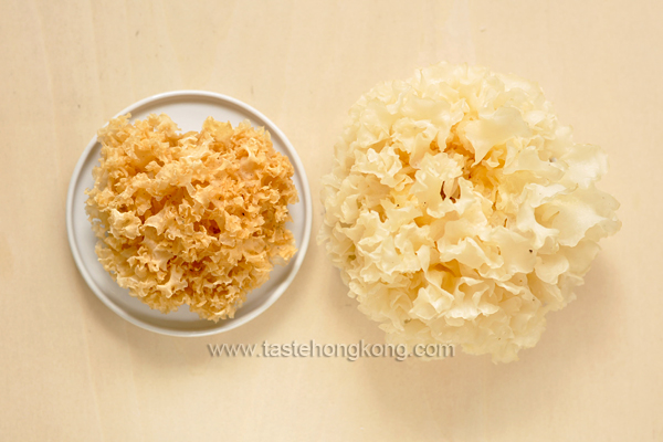 White Fungus - Before and After Soaked