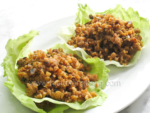 Lettuce Wraps – Chinese Style